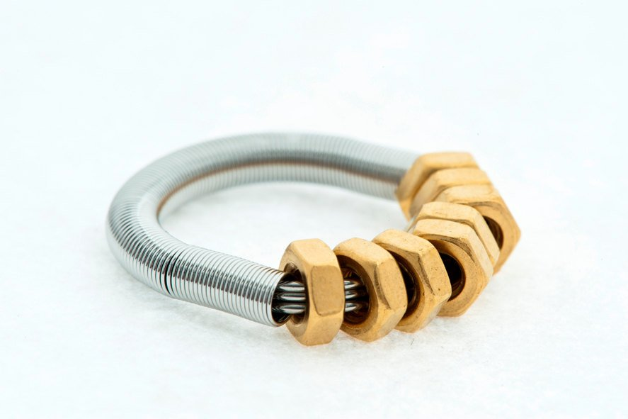 GB-8 Golden Nuts Ring
