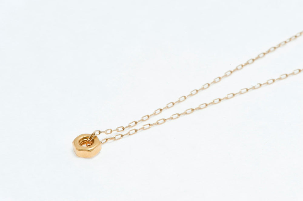 Gold Nut-Necklace