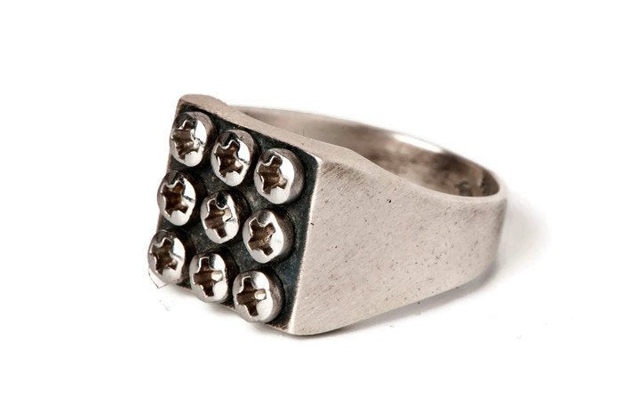 Power Nine-Silver-Ring