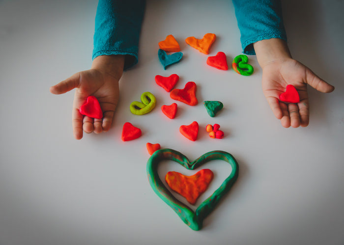 Valentine Crafts for Toddlers' Fine Motor Skills