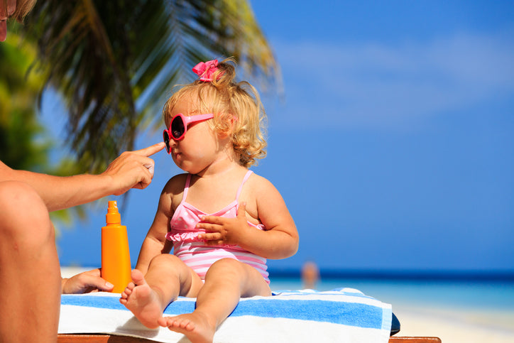 Sunburn: Treating Your Burned Toddler