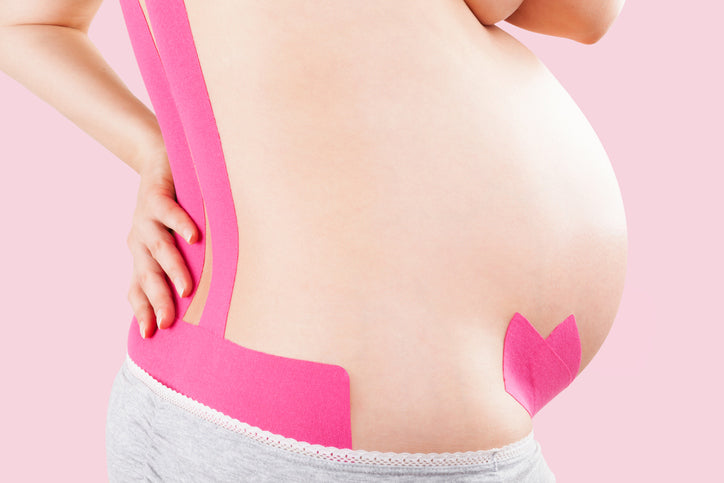 Pregnancy Hack #3: Taping the Belly
