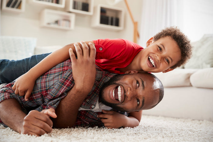 Why It's Good For Dads To Play Rough