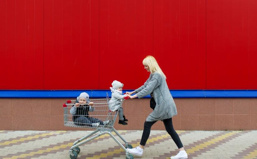 Top Tips For Shopping with Infants and Toddlers