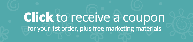 Click here to receive a coupon for your first order plus marketing materials.
