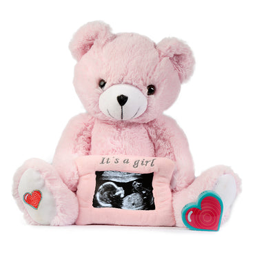 Pink Gender Reveal Bear