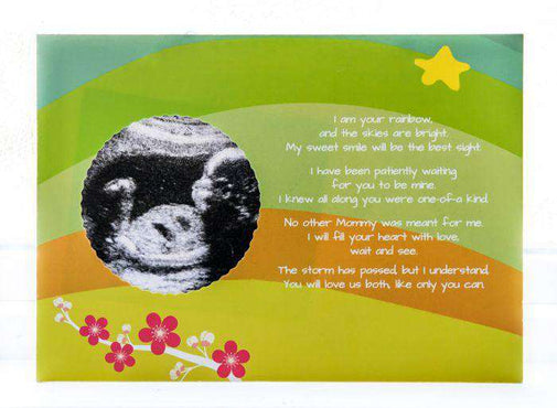 Rainbow Baby Ultrasound Card