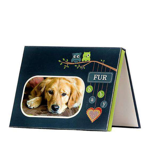 Blue Furbaby Audible Frame