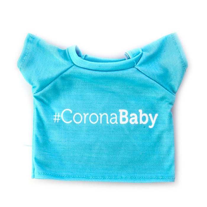 Blue #CoronaBaby Shirt