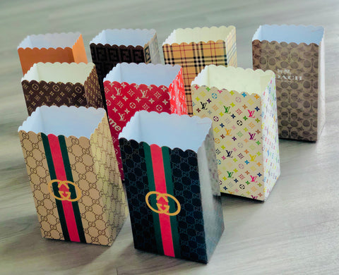 Gucci / Louis Vuitton / Burberry / Hermès / Coach / Fendi Fashion Favor Boxes / Treat Boxes / Gift Boxes