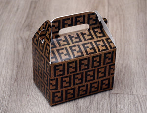 Fendi Fashion Favor Boxes / Treat Boxes / Gift Boxes