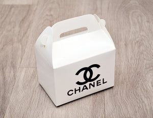 Chanel Fashion Favor Boxes / Treat Boxes / Gift Boxes