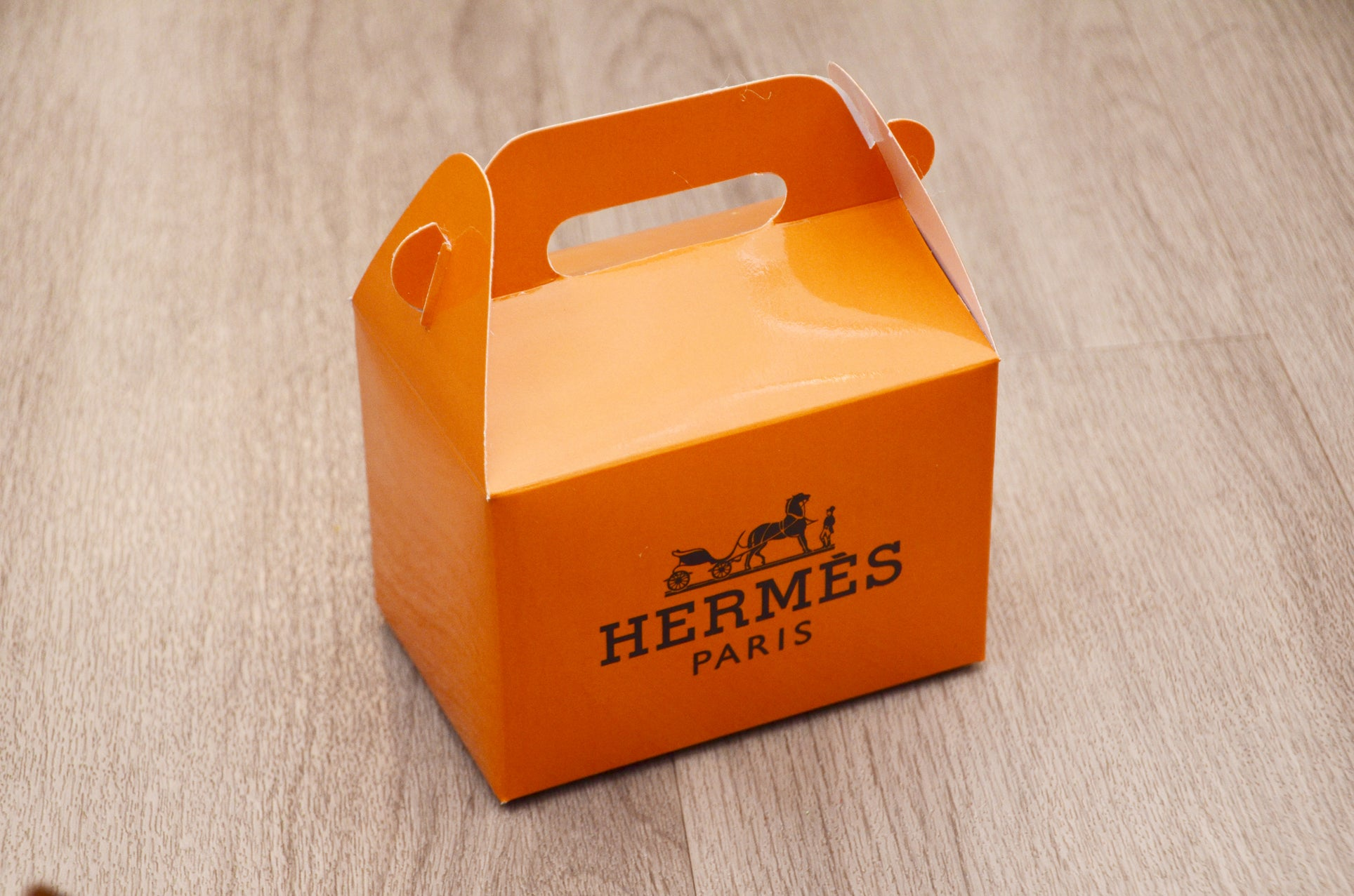 Hermes Fashion Favor Boxes / Treat Boxes / Gift Boxes