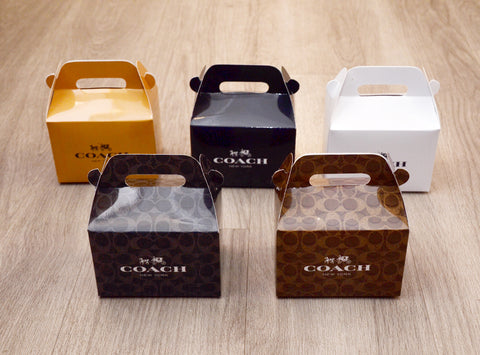 Coach Fashion Favor Boxes / Treat Boxes / Gift Boxes