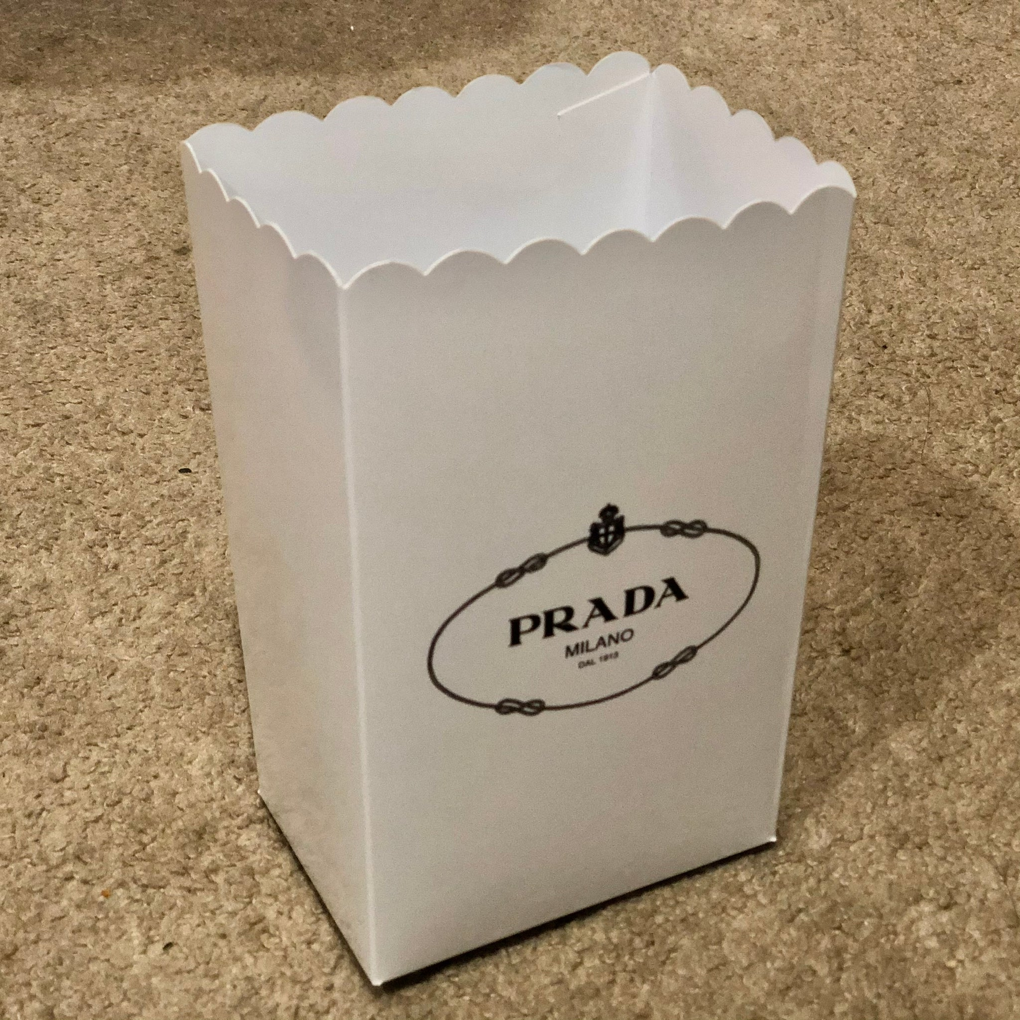Prada Fashion Favor Boxes / Treat Boxes / Gift Boxes