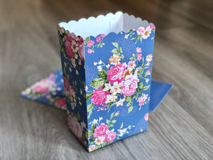 Shabby Chick Favor Boxes / Treat Boxes / Popcorn Boxes