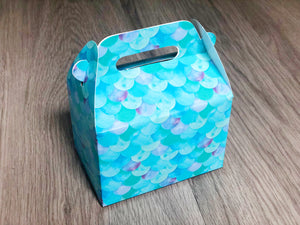 Under the Sea Mermaid Favor Boxes / Treat Boxes / Gift Boxes