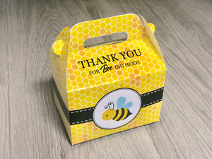 Bumble Bee Favor Boxes / Treat Boxes / Gift Boxes