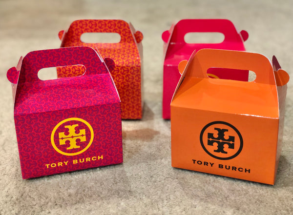 Assorted Tory Burch Favor Boxes / Treat Boxes / Gift Boxes