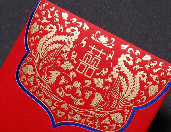 Double Happiness Chinese Wedding Foil Stamped Red Money Envelopes