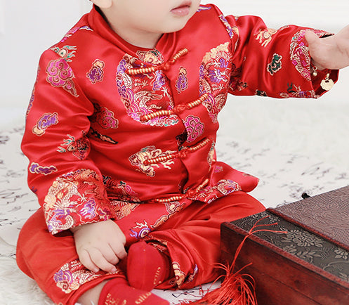 Chinese Traditional Changsan for Baby Boy Toddler