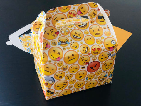 Emoji Print Favor Boxes / Treat Boxes / Gift Boxes