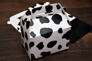 Cow Print Favor Boxes / Treat Boxes / Gift Boxes