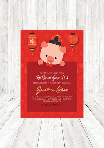 unique red egg and ginger party invitation or 64 red egg and ginger party invitation wording