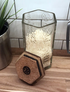 Dry Goods Storage  I  Repurposed Whiskey Bottle  I  Tincup