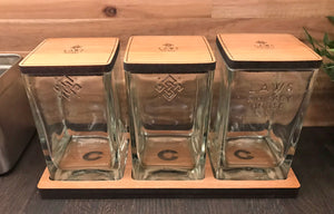 Dry Storage Vessel - Laws Whiskey House - Set of 3