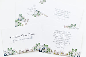 Scripture verse cards (Encouragement)