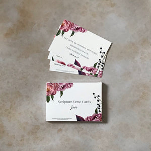 Scripture verse cards (Love)