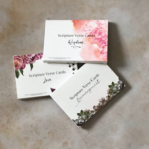 Scripture verse card pack bundle