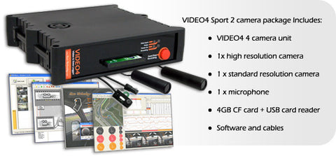 Race Technology Video4 Sport 2 Camera System