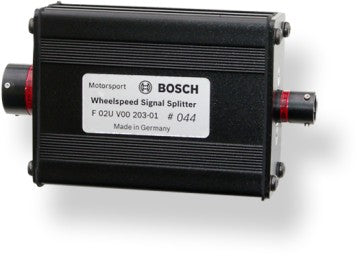 Bosch Motorsport Wheel Speed Splitter