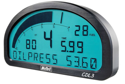 MoTeC CDL3 Club Dash Display and Logger