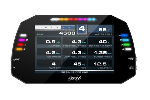 AiM MXG Full Colour Dash Logger