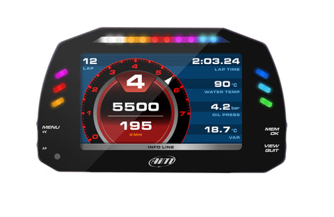 AiM MXS Full Colour Dash Logger