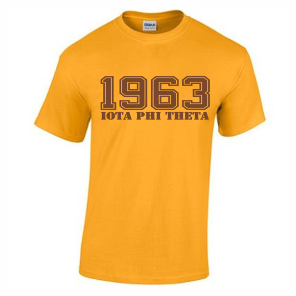 1963 Gold T-shirt - Iota