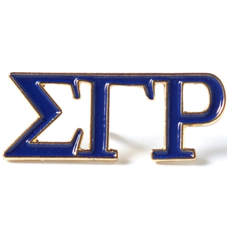 SGRho 3 Letter Color Lapel Pin