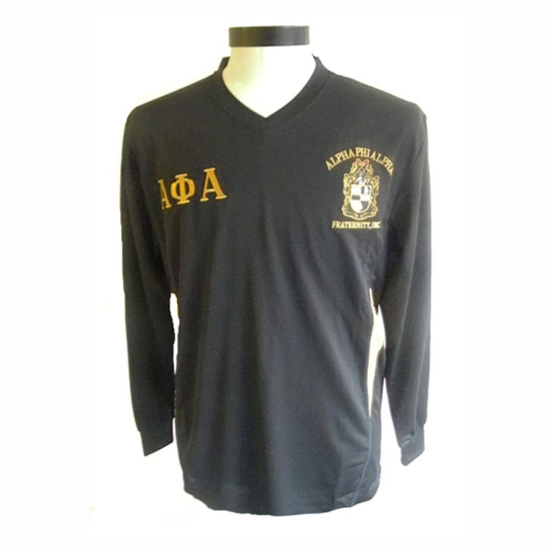 Alpha Long Sleeves Dri Fit V-Neck