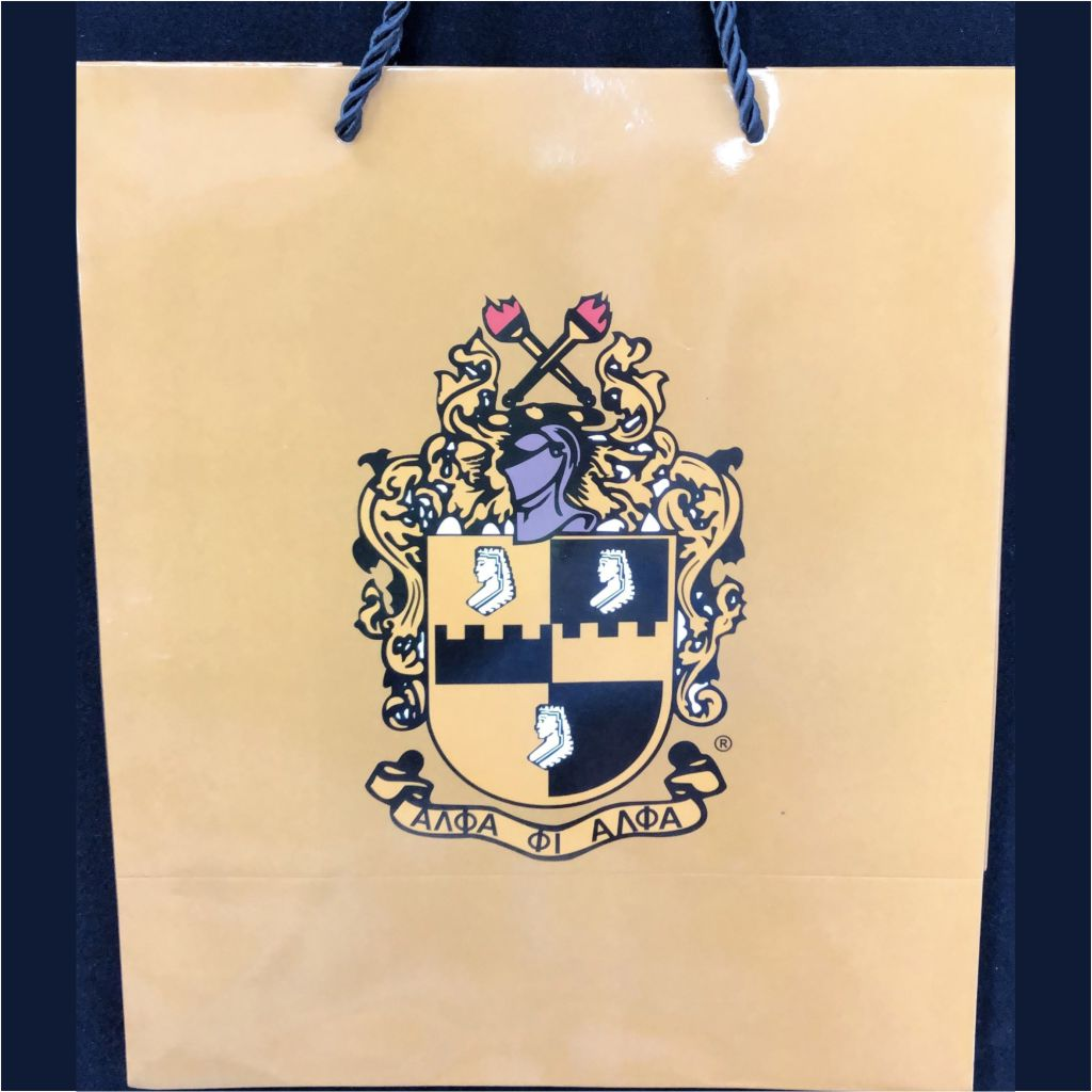 Alpha Big Shield Gift Bag