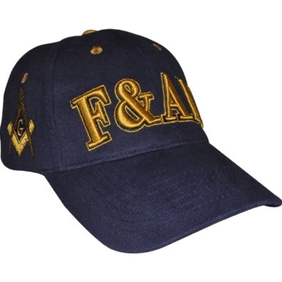 Embroidered with Right Shield Cap - Mason
