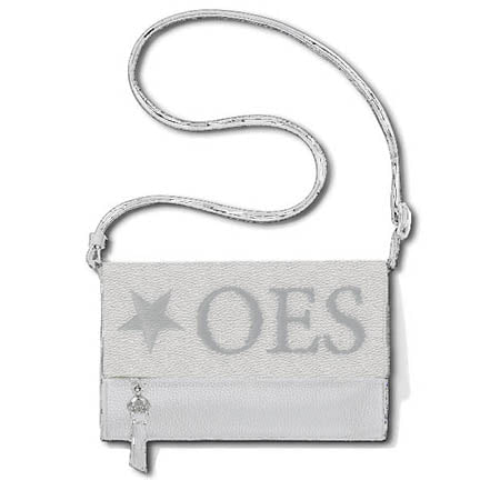 OES Faux Leather Crossbody Clutch Purse
