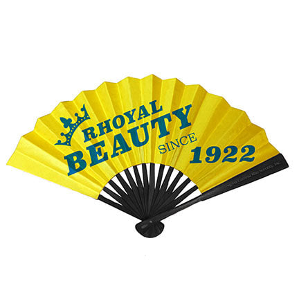 SGRho Fold-able Bamboo Hand Fan
