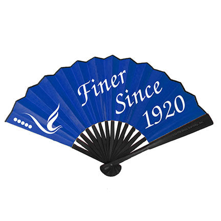 Zeta Fold-able Bamboo Hand Fan