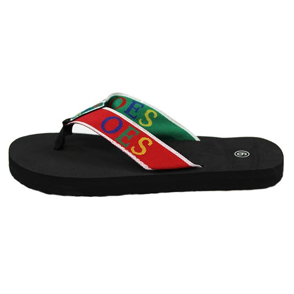 Flip Flops with Satin Shoe Bag - OES