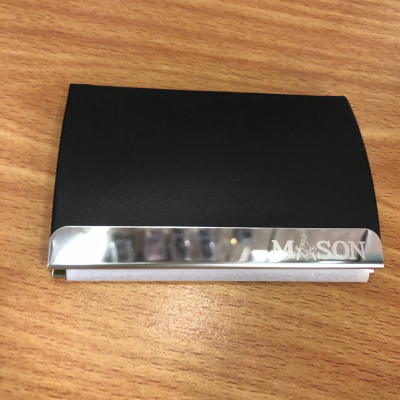 Mason Business Card Holder