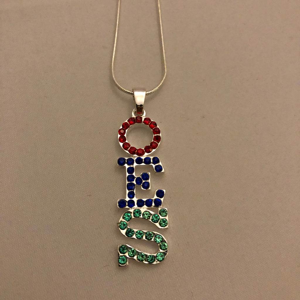 Austrian Crystal Pendant Necklace - OES
