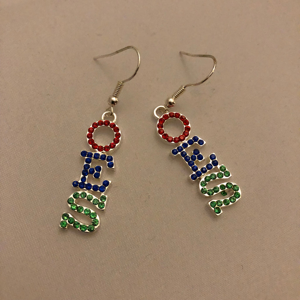 Austrian Crystal Earrings - OES